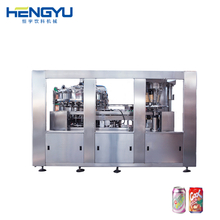 Aluminum Can Filling Sealing Two in One Machine