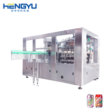 Can Beverage Filling Production Line