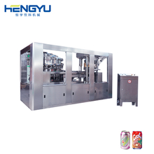 Juice Can Filling And Sealing Machine