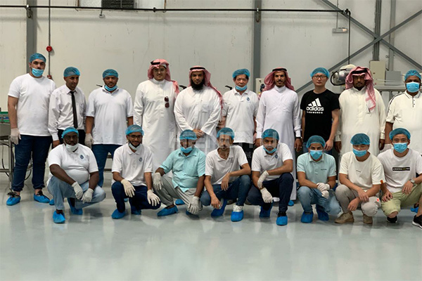 Hengyu Machinery Assists Saudi Arabia Customers in Water Treatment Installation